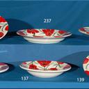 Platos de vajilla redondos, Llanos, redondos y postre