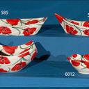 Barcas, cuenco cuatro picos, tulipa.