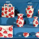 Bolsa, floreros,   jarrones , portacartas, joyero y dedales de ceramica.