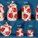 Tarros de cocina. ajeros y especieros de ceramica.