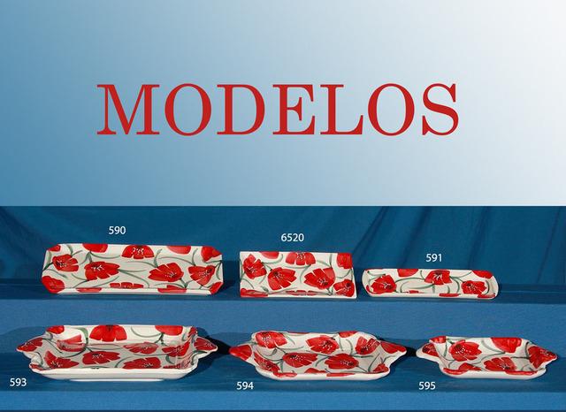 Bandejas de ceramica