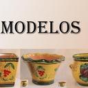 MODELOS MACETAS DE  JARDINERIA  DECORADA