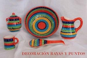 DECORACIÓN RAYAS Y PUNTOS