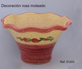 Maceta margarita  29x18 Cm.