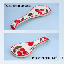 Posacucharas medidas 10x28 cm.